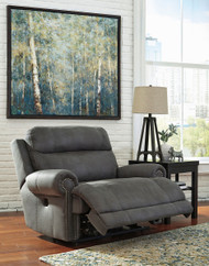 Austere Gray Zero Wall Recliner