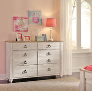 Willowton Whitewash Youth Dresser