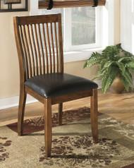 Stuman Medium Brown Dining Upholstered Side Chair