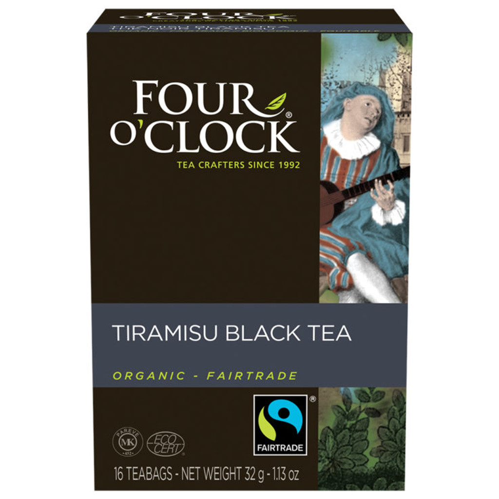 Tiramisu Black Tea - Fairtrade, Organic