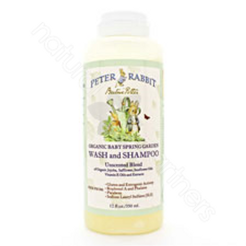 Peter Rabbit Organic Baby Spring Garden Wash and Shampoo Unscented
