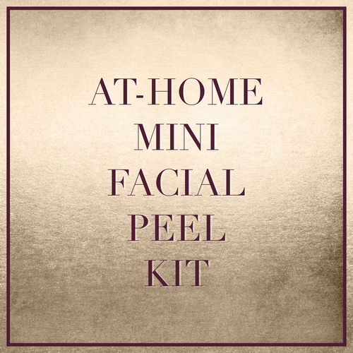 At-Home Mini Facial Peel Kit (for the 30 Days to Great Skin program)