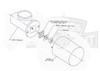 Spinalator Travel Motor with Heat Sink