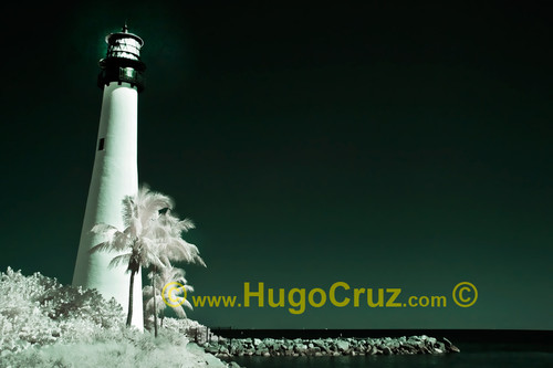 """Cape Florida Beacon"" ● Infrared Photography"