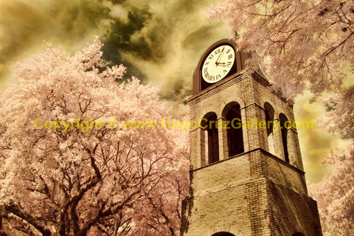 """The Clock Tower"" ● Infrared Photography"