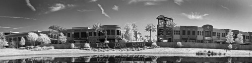 """Tioga Town Center"" ● Infrared Photography"