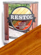 Restol Wood Oil in Natural Brown