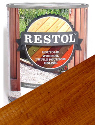 Restol Wood Oil in Mahogany