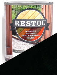 Restol Wood Oil in Ebony Black