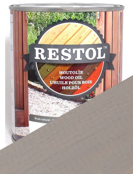 Restol Wood Oil in Light Grey