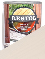 Restol Wood Oil in Pearl White