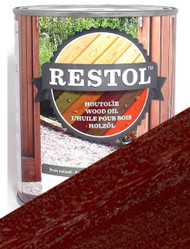 Restol Wood Oil in Hardwood Brown