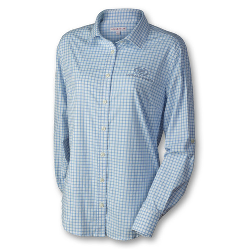 Ladies' Long Sleeve Button Down