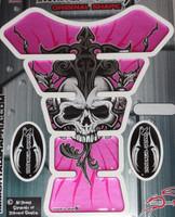 Skull Sun Pink Silver/Gray Metallic