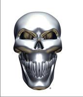 Chrome Skull Front