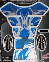 Blue Tribal Metallic