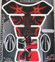 Ninja Kanji Throwing Star Red