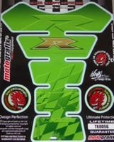 Kawaski Green Double R Tank Pad