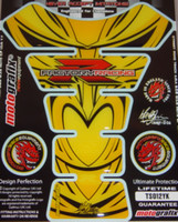 Suzuki Yellow Black R Factory Racing Tank Pad