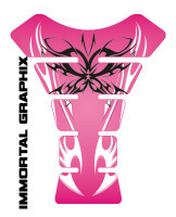 Tribal Butterfly Pink/Black