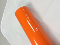 Orange Vinyl Material for Decals