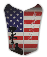Can AM Spyder RS Fallen Soldier Motorcycle Tank pad