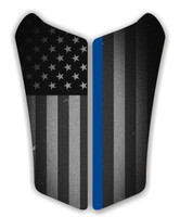 Can AM Spyder RS Fallen Officer Motorcycle Tank pad