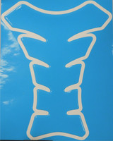 Light Blue Motorcycle Tank Pad Protector
