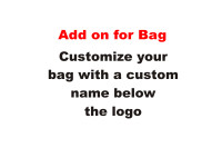 Customize Drawstring Bag with Name