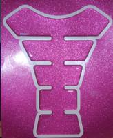 Ultra Pink Metallic Tank Pad