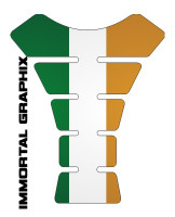 Ireland Flag Tank pad