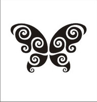 Butterfly Decal #9
