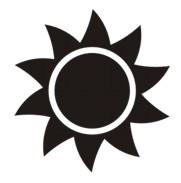 Sun Decal #2