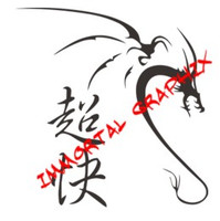 Dragon with Fast as Hell Kanji 11