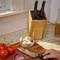 Stylish Kitchen Knife Block by Kapoosh