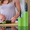 Kapoosh Lime Green Knife Block