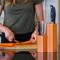 Orange Knife Block