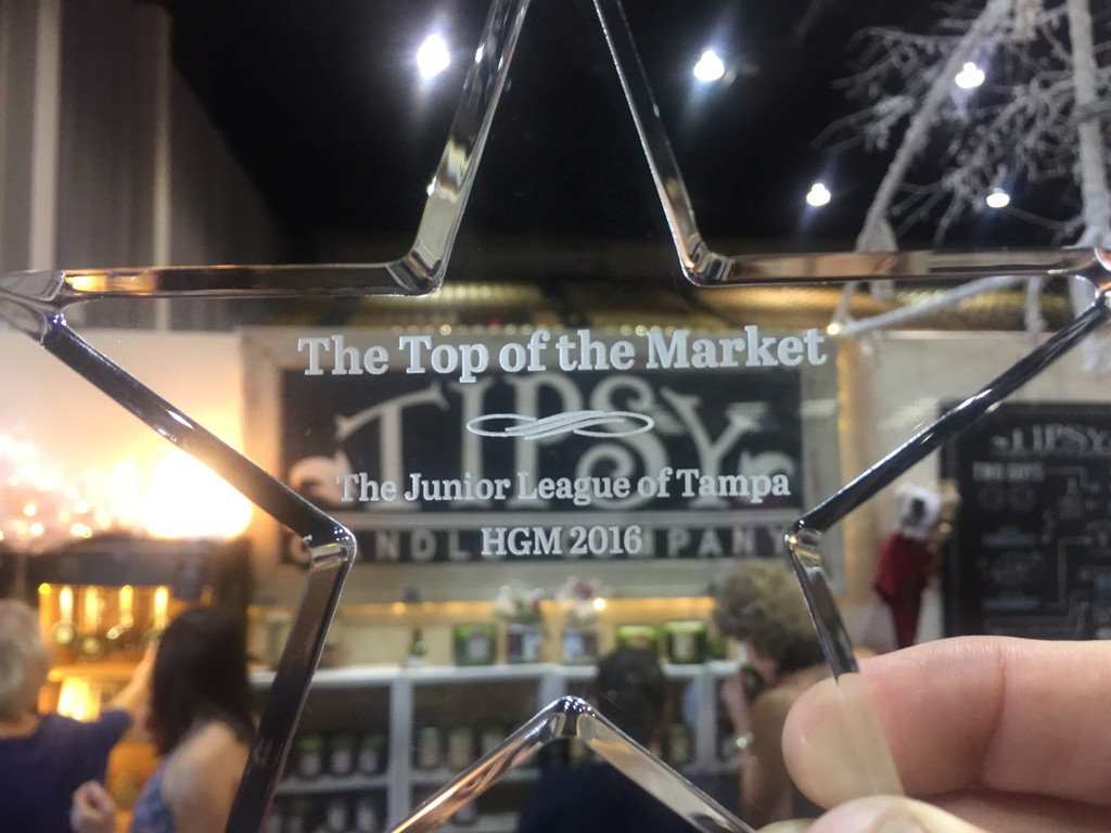TOP of THE MARKET - 2 years in a row!