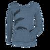 Lux Sweatshirt - Feathers, Blue/Grey