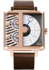 Xeric Soloscope SQ Rose Gold Brown (SSQ-3019-BRN)