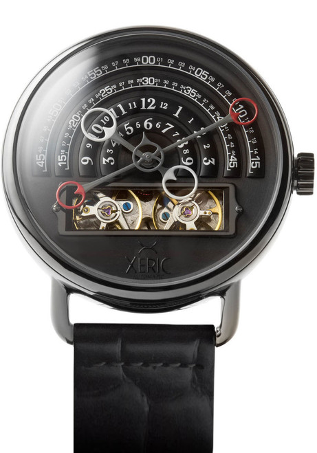 Xeric Halograph Automatic Gunmetal (HLG-3017)