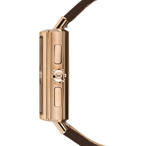 Soloscope SQ Rose Gold Brown (SSQ-3019-BRN)