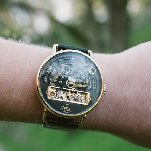 Xeric Halograph Automatic Black Gold (HLG-3019)