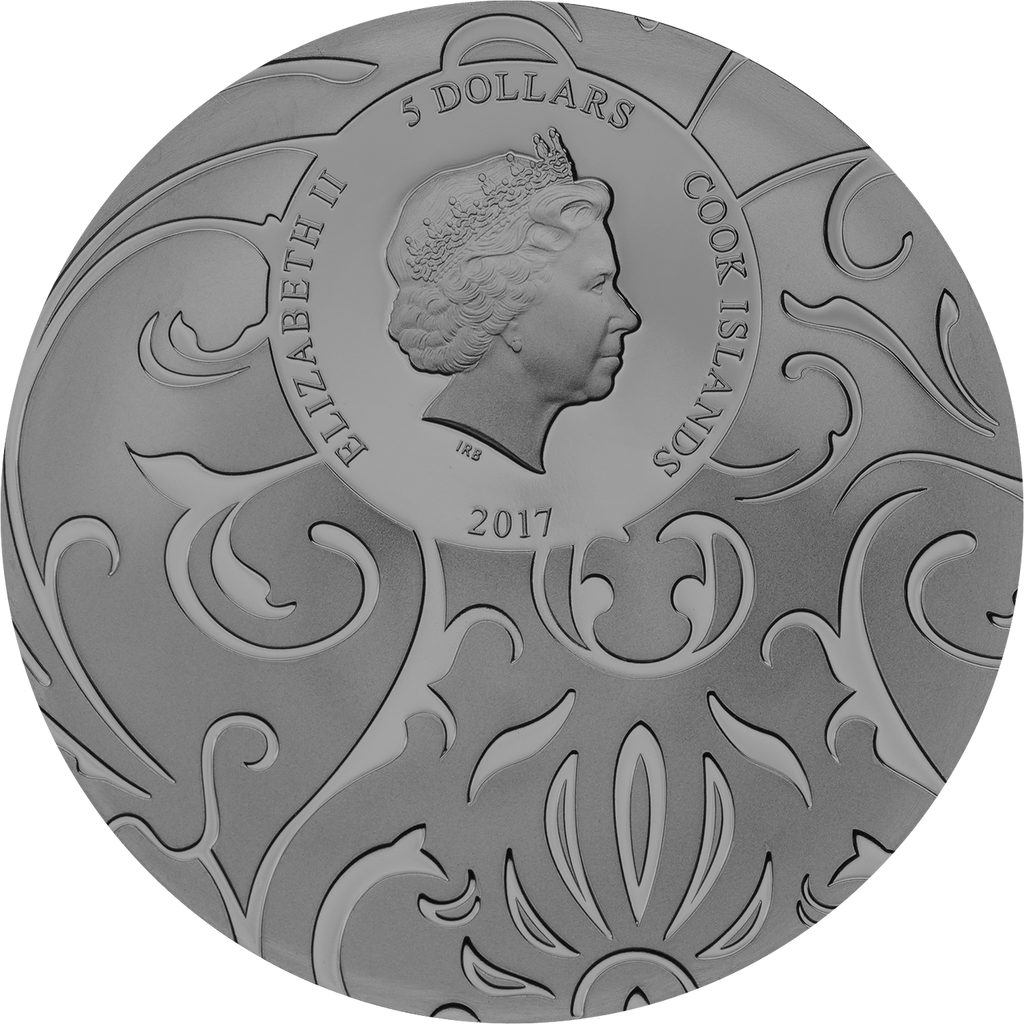 2017 SCARAB SELECTION Set 3x1 Oz Silver Coin 5$ Cook Islands