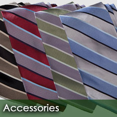 Ties and accessories for employee uniforms
