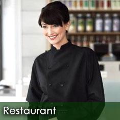 Restaurant uniforms hotel corporate apparel waitstuff for Uniform spa manager