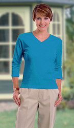 3/4 sleeve shirt for women