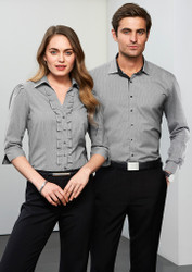 The exceptional Edge uniform shirt in grey/black.
