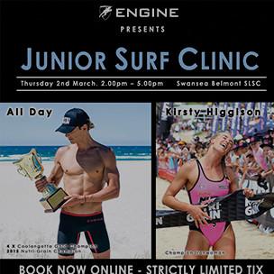 ENGINE Junior Clinic w Ali Day and Kirsty Higgison