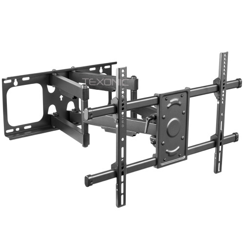 "Free shipping TV Wall Mount Swivel Tilt Dual Arm 37"" to 70"" (T-AK664)"